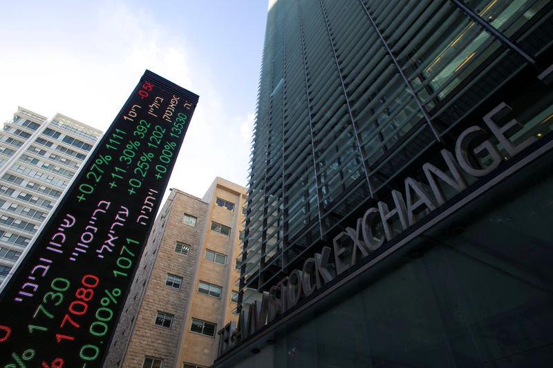 Israel stocks lower at close of trade; TA 35 down 0.05%