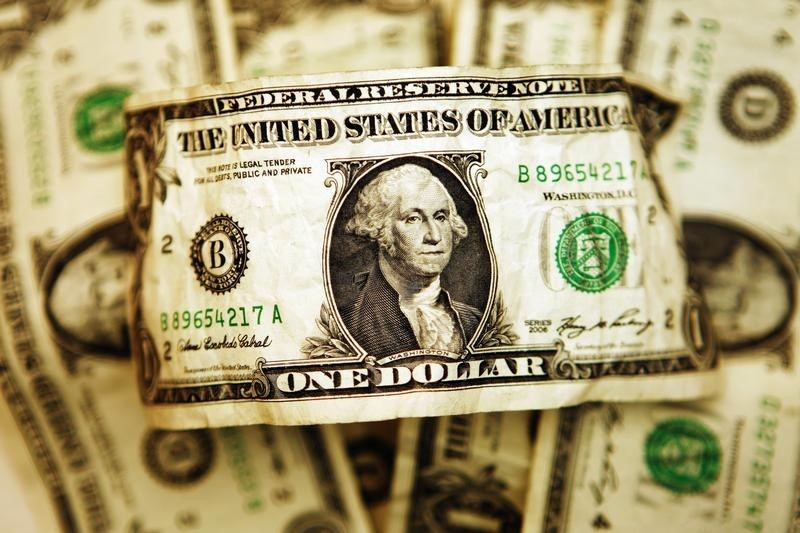Dollar Down, Investors Digest Chinse Inflation Data