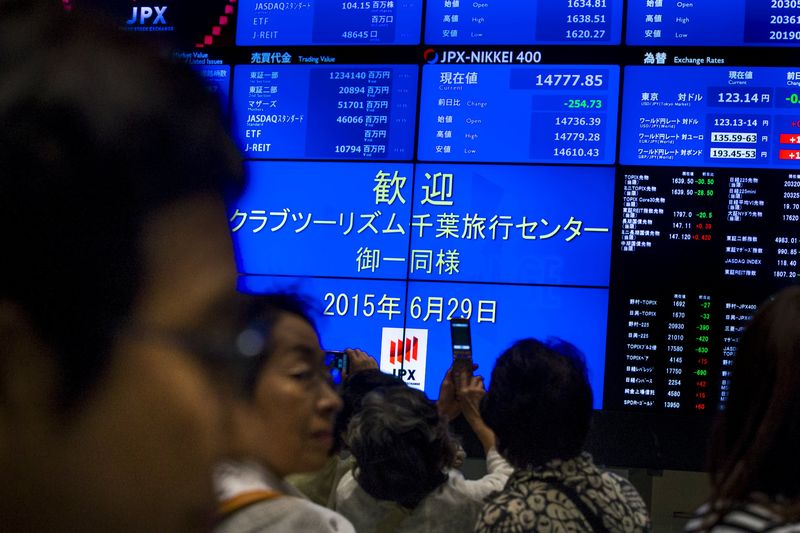 Japan stocks lower at close of trade; Nikkei 225 down 0.19%