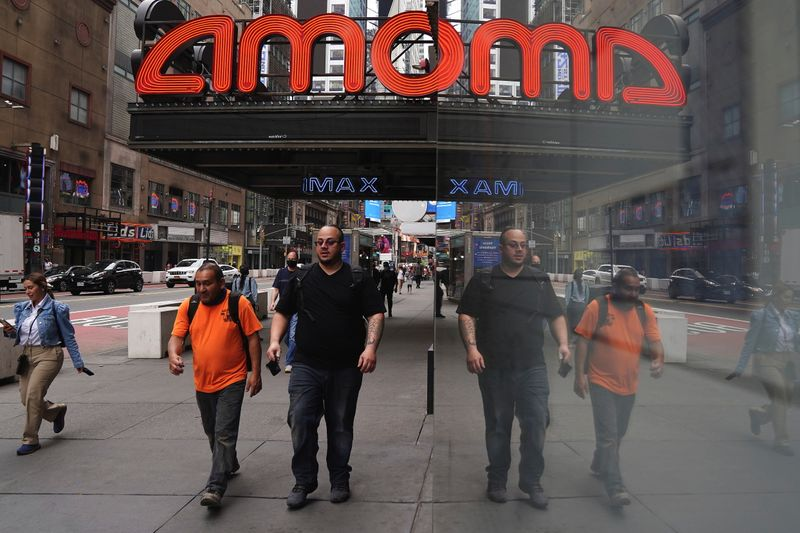 Analysis: With popcorn and tweets, AMC's Aron rides retail investor wave