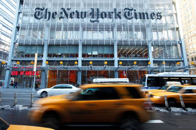 U.S. Justice Dept got gag order on NY Times execs in fight over email logs - NYT
