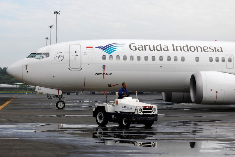 Garuda Indonesia says to return two Boeing jets to lessor