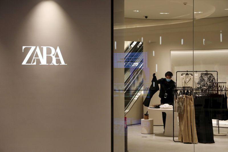 Spanish retailer Inditex books 421 million euro profit in first quarter