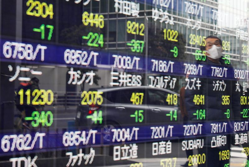 European shares hit record high, bond yields fall as inflation fears ease