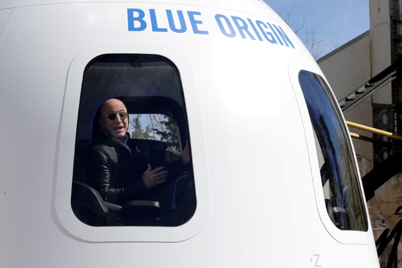 Bid of $28 million wins a rocket trip to space with Bezos