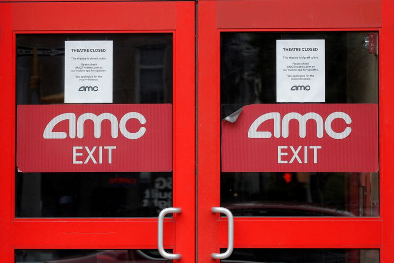 AMC Entertainment shares up almost 25% as trading volume climbs