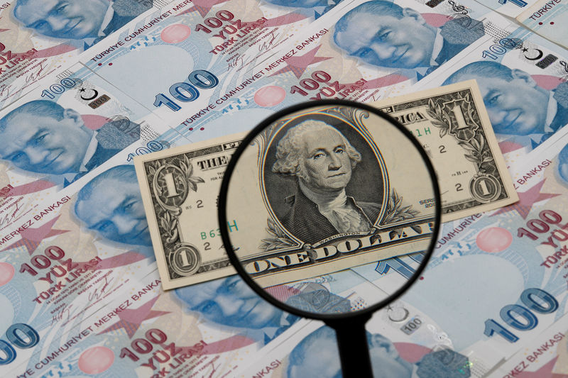 Dollar Mixed as CPI, Minutes Cement Tapering Expectations; Lira Slumps to New Low