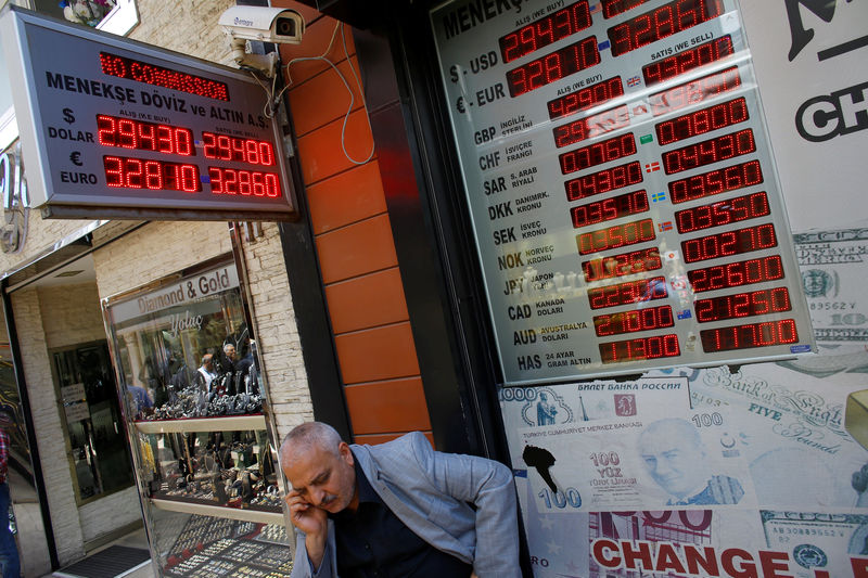 The Fate of Turkey's Battered Lira Hangs With Local Investors